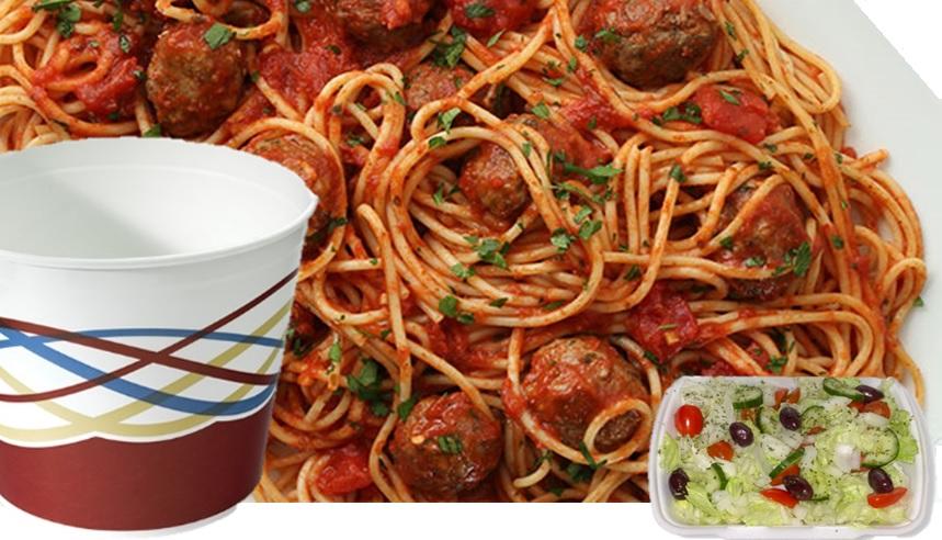 Bucket of Spaghetti